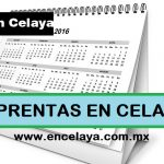 Imprentas en Celaya