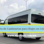 Renta de Camionetas para Viajes en Celaya